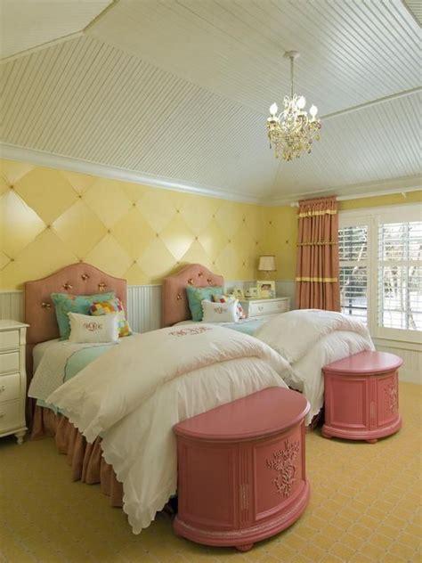 cute  interestingtwin bedroom ideas  girls