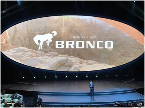 ford bronco  launch      body  frame suv