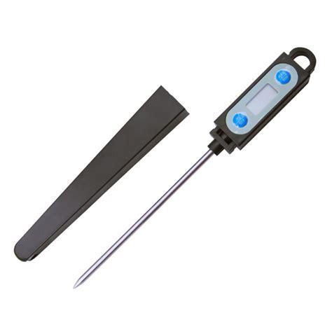 thermomètre à sonde cuisine thermomètre digital avec sonde en inox alimentaire