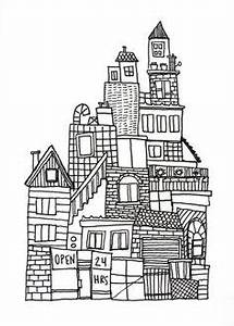 1000+ ideas about City Drawing on Pinterest | Drawings ...