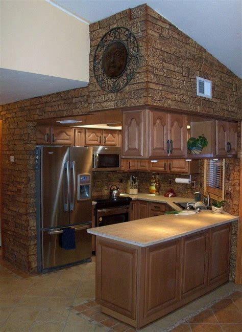 Decorate long kitchen wall is very tempting in order to make your long kitchen look so full and compacted. 30+ Unique Kitchen Island Designs - Decor Around The World