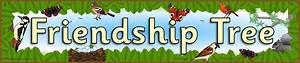 Friendship Tree Display Banner  Sb3020