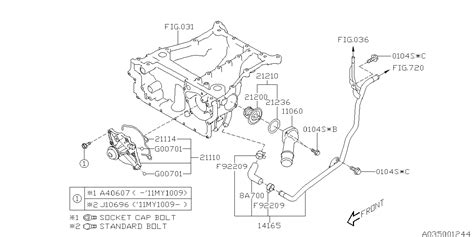 book repair manual 2012 subaru outback spare parts catalogs 21210aa120 genuine subaru thermostat gasket assy