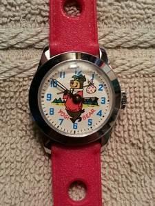 Vintage 1960s Yogi Bear Character Wrist Watch Hanna