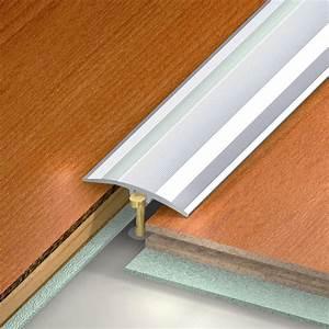 barre de seuil aluminium anodise gris l270 x l41 cm With barre de seuil parquet flottant leroy merlin
