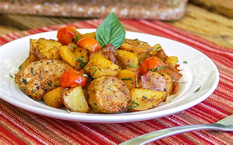 potatoes for dinner ideas easy one skillet meal hearty italian sausage and potatoes
