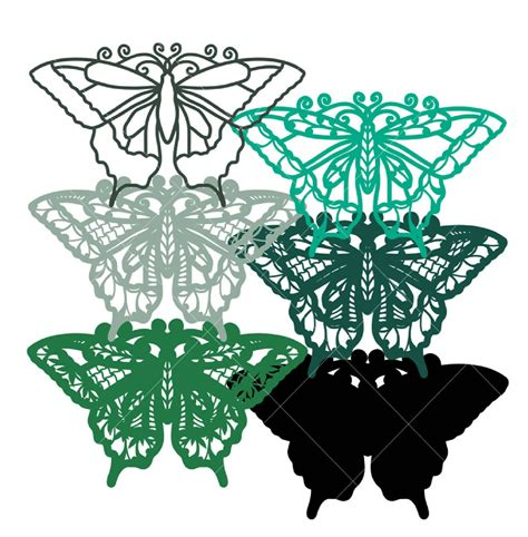 Feel free to play around and possibly leave some of the layers out of your creation. Get Free 3D Butterfly Svg PNG Free SVG files | Silhouette ...