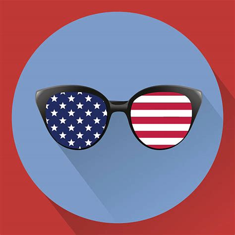 Almost files can be used for commercial. American Flag Sunglasses Illustrations, Royalty-Free ...