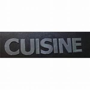 Lettre Decorative Cuisine : lettre d coration murale en ardoise ~ Teatrodelosmanantiales.com Idées de Décoration