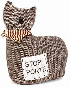 Cale Porte Tissu : cale porte chat marron cale porte pinterest ~ Teatrodelosmanantiales.com Idées de Décoration