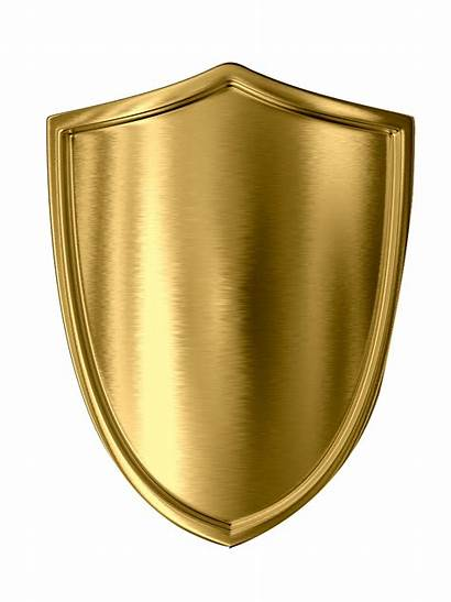 Shield Gold Clipart Golden Illustration Freepngclipart 1004