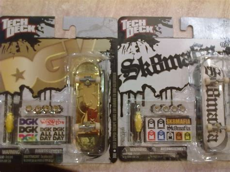 tech deck dgk gold my gold plated tech deck