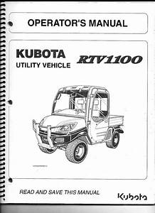 Kubota Rtv 1100 Parts Diagram