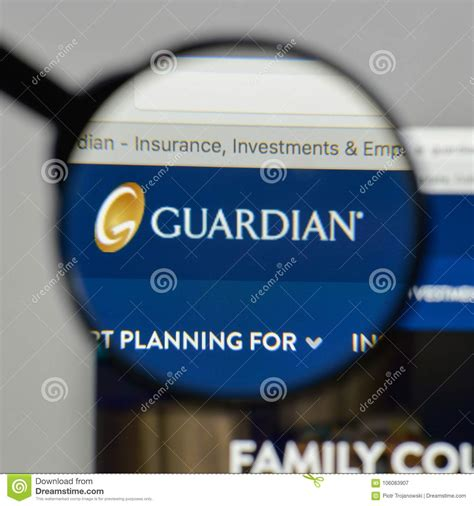 The guardian life insurance company of america, guardian, the g guardian logo and other marks of guardian and its subsidiaries, as well as i understand that this authorization is required in order to enable guardian life insurance company of america to make eligibility or application. Milan, Italy - August 10, 2017: Guardian Life Ins. Co. Of ...