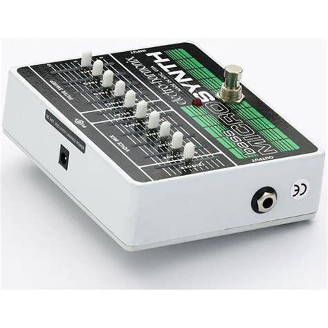 Electro Harmonix Micro Synth Sound Templates by Electro Harmonix Xo Bass Micro Synthesizer 171 Bass Guitar