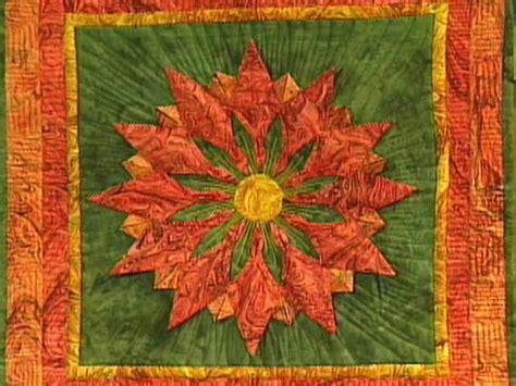 textured flower quilt hgtv