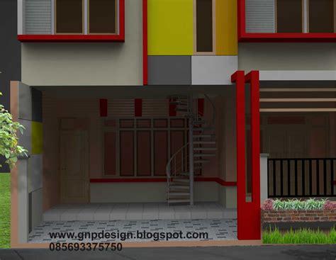 gnp design design rumah minimalis buat kontrakan  lantai