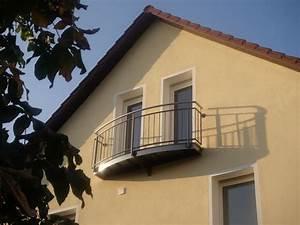 Franzsischer Balkon Mit Austritt Metallwerkstatt Torschl