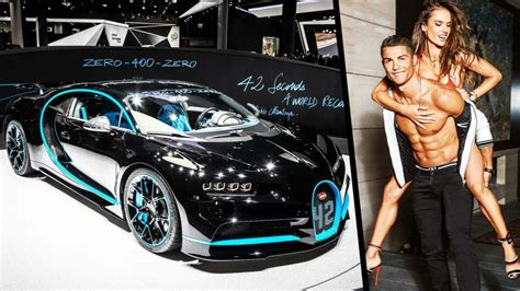 Just before deliveries of the chiron start, bugatti has requested a real champion to give the french luxury brand's new ultimate super sports car a final. Cristiano Ronaldo's ₹17 crore hypercar is a beast you'd love to own