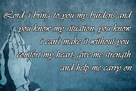 prayer quotes lord  bring    burdens