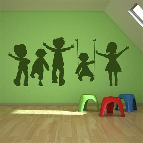 children wall decals  grasscloth wallpaper