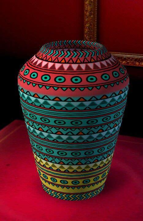 large mexican vase mexican folk art mexican art decor