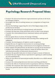 popular psychology research topics