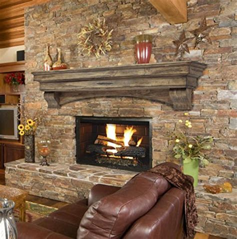 a fireplace mantel is the of the hearth