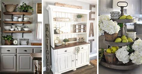 Farmhouse Kitchen Decorating Ideas by 38 Best Farmhouse Kitchen Decor And Design Ideas For 2019