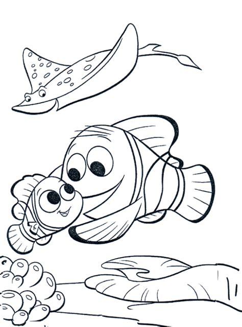 gambar gambar mewarnai ikan lucu kartun diwarnai di