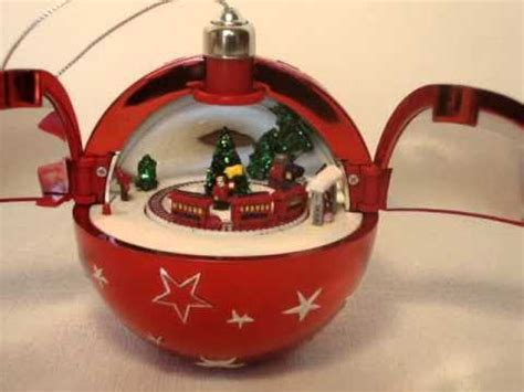 musical christmas ornaments that play music mr box ornament