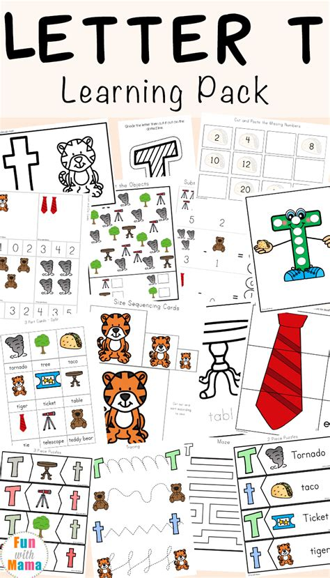 letter t lesson plan for preschool letter t worksheets for preschool and kindergarten 575