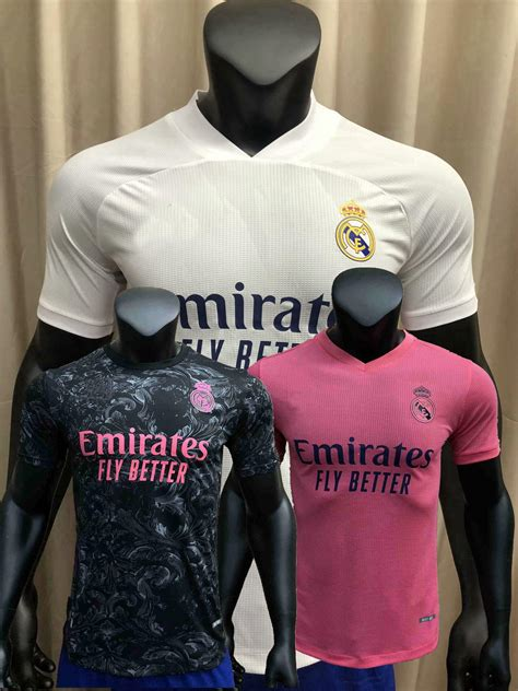 2020 Player Version 2020 2021 Real Madrid Soccer Jersey ...