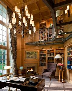 Impressive, Home, Library, Design, Ideas, For, 2018, U2013, Storiestrending, Com