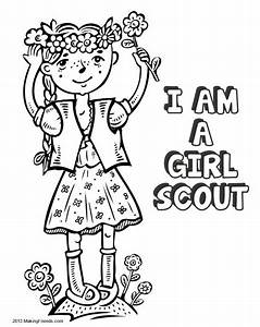 Girl Scout Law Coloring Book Print All The Pages To