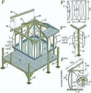 plan maisonnette en bois les cabanes de jardin abri de With plan cabane de jardin enfant