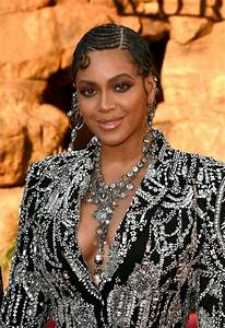 BEYONCE at The Lion King Premiere in Hollywood 07/09/2019 ...