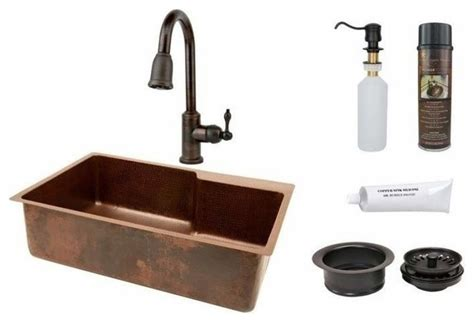 kitchen sink remodel 33 quot hammered copper kitchen single basin sink with space 2851