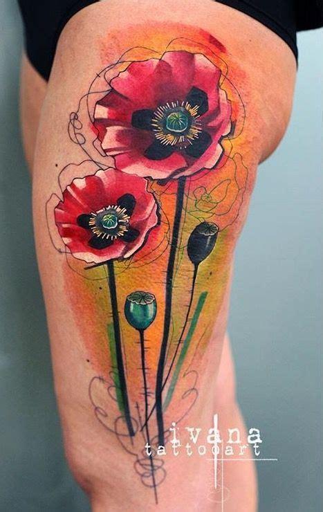 images  poppy tattoo  pinterest