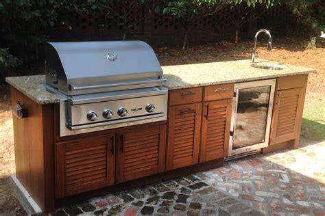 weatherproof outdoor kitchen cabinets naturekast outdoor summer kitchen cabinet gallery 7025