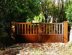 Particulier à Particulier 06 : portail en bois bien choisir son portail en bois de particulier particulier pap ~ Gottalentnigeria.com Avis de Voitures