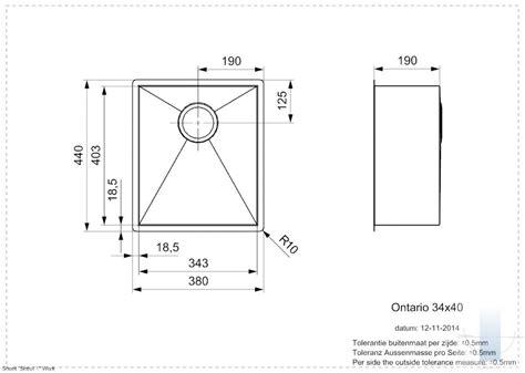Ontario L 34/40 integrētā virtuves izlietne | Vannupasaule.lv