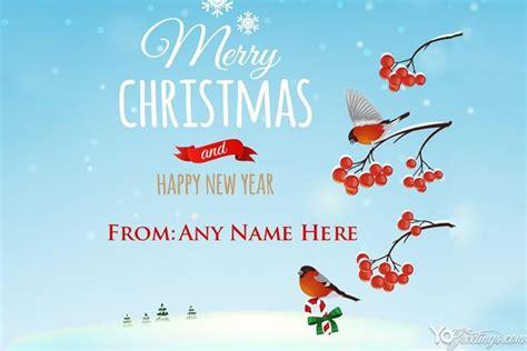 christmas  year  greeting card    edit