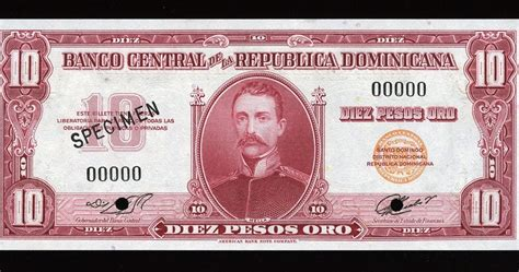 dominican republic currency  dominican pesos oro banknote world banknotes coins