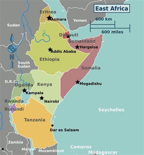east africa travel guide  wikivoyage
