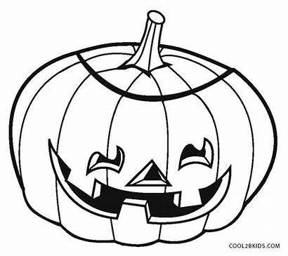 Coloring Pages Pumpkin Pumpkins Cool2bkids Printable