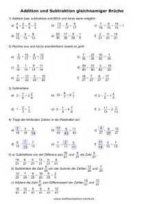 brüche lernen mathe übungen klasse 6