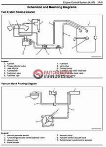 Isuzu 2008my N Series Engine Control System 4jj1 Model Workshop Manual
