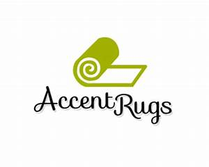 Accent rugs designed by clickablenames brandcrowd for Carpet roll logo