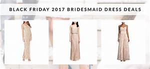 Black friday bridesmaid dress deals 2017 autumn anthology for Black friday wedding dresses 2017